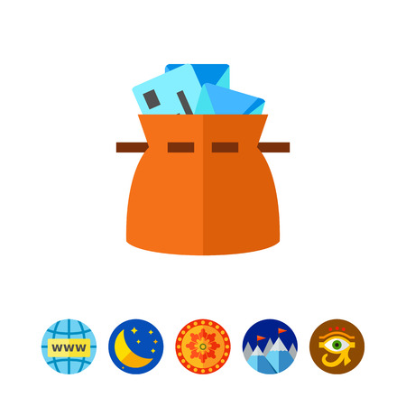package sending: Mail bag icon