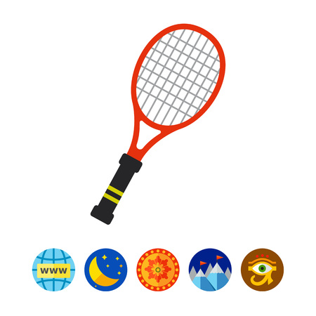 implement: Tennis Racket Icon