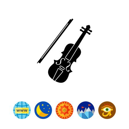 Violin simple icon