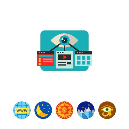 Visual Optimization Flat Icon