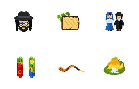 Conjunto de iconos de cultura de Israel