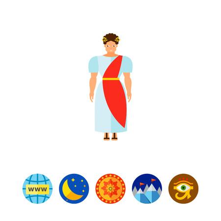 i i  i i toga: Romano antiguo en el icono del traje nacional