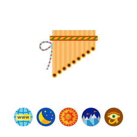 icono de flauta de pan Antara