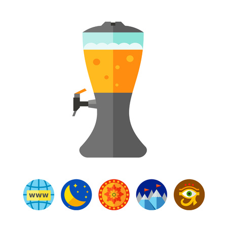 frothy: Beer dispenser icon