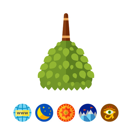 Birch Besen Symbol