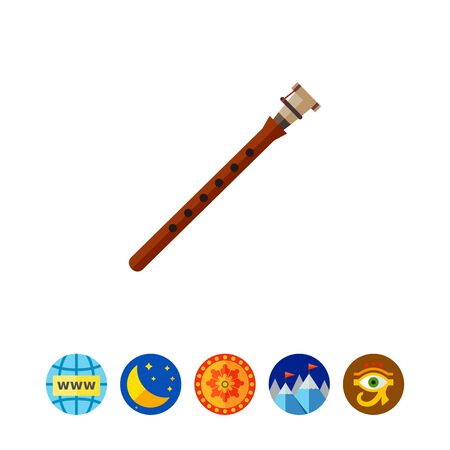perform: Duduk flute icon