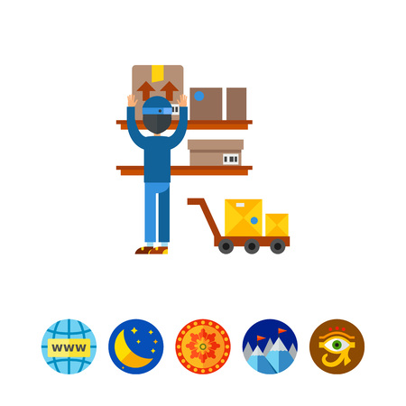 Postal storage icon
