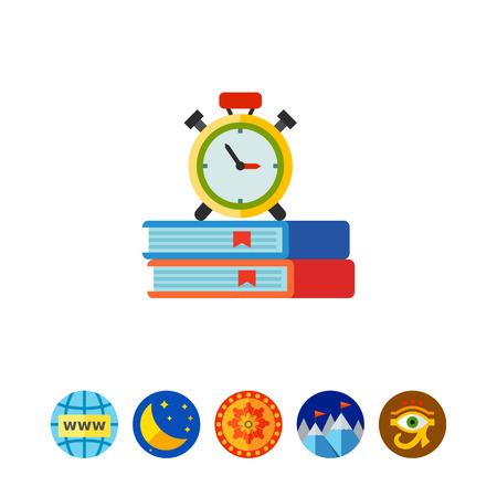 Preparation for exam icon