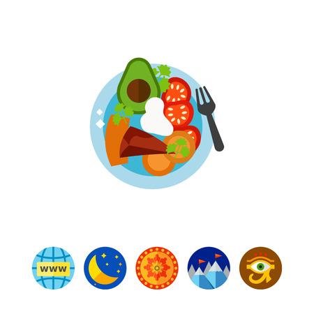 Sobrebarriga Sudada food icon