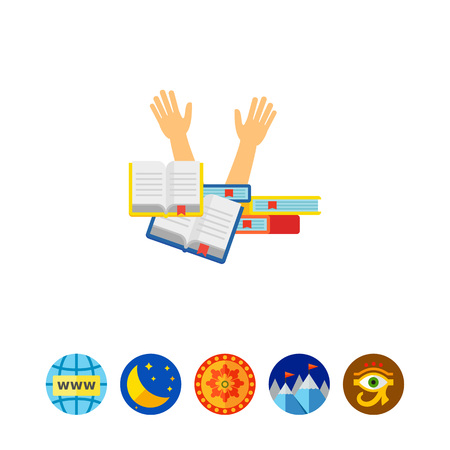 reading app: Student stress icon