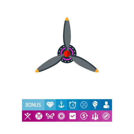 Airplane Propeller Icon
