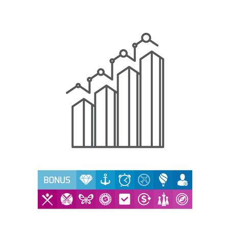 Icon of bar chart