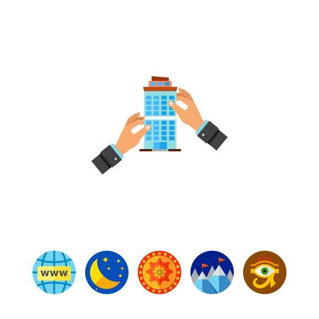 merger: Company Merger Concept Icon