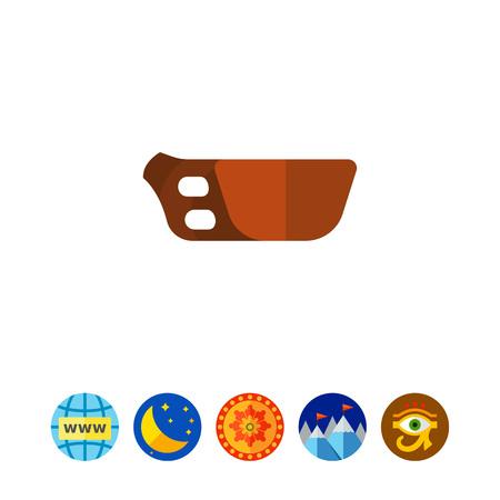 Wooden kuksa icon
