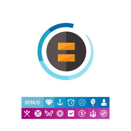 Black fader icon
