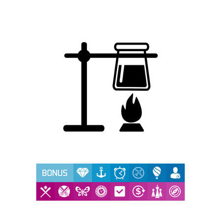 Chemistry simple icon