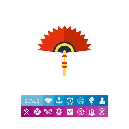 talisman: Chinese Folding Fan Icon