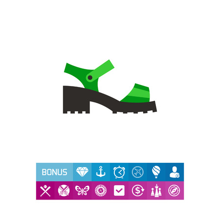 chunky: Chunky Sandal Icon