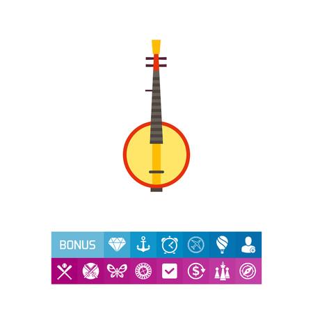 Domra flat icon