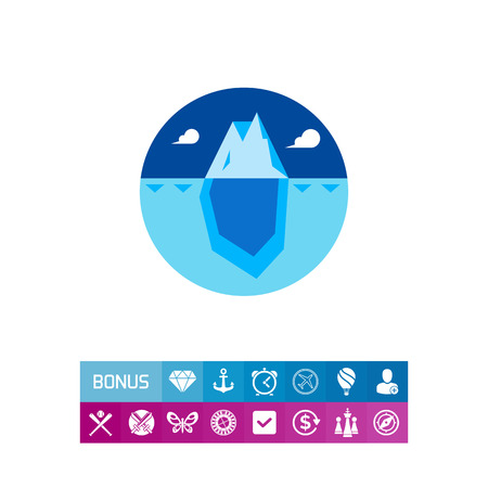 Drifting Iceberg Icon