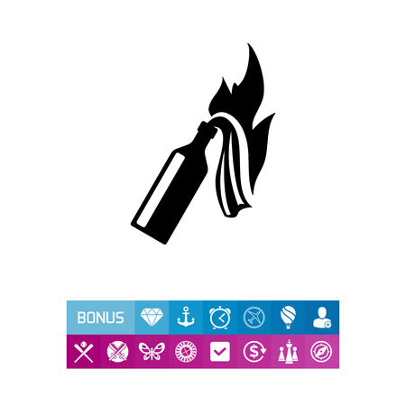 inflammable: Fire Cocktail Icon