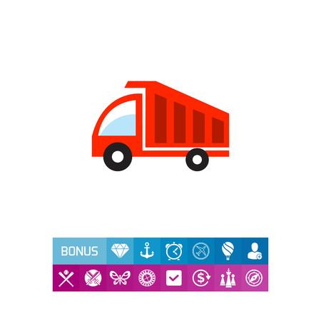 dumping: Dump truck