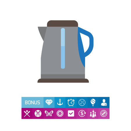 scale: Electric kettle icon