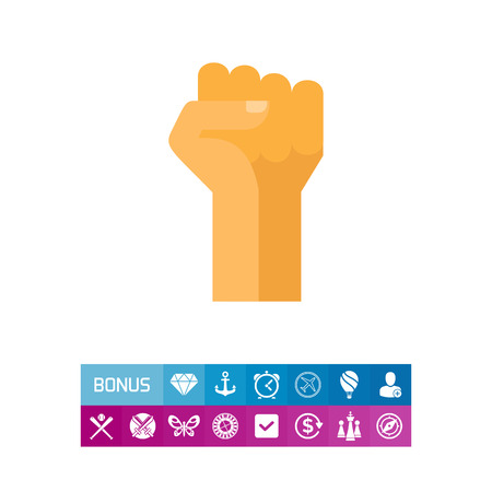 Fist up icon