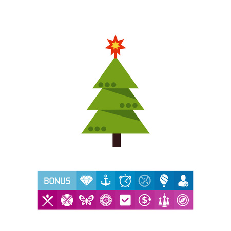 장식 된 크리스마스 트리 스톡 콘텐츠 - 82024216