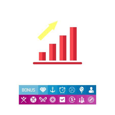 Growing bar chart