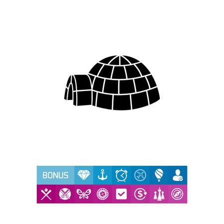Igloo simple icon