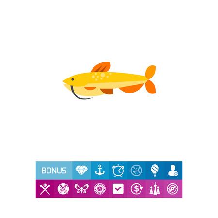 catfish: Isolated Catfish Icon