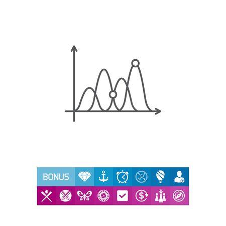 Icon of line graph
