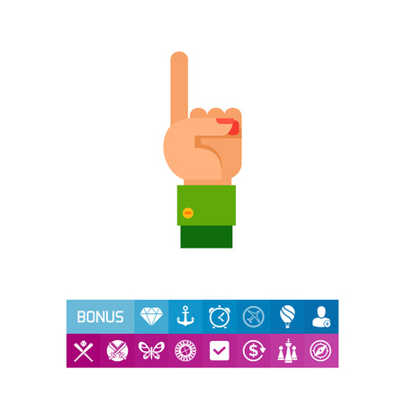 One Finger Up Icon
