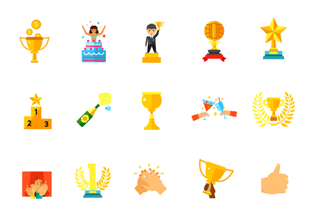 Winning icon set