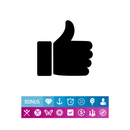 Like Sign Simple Icon