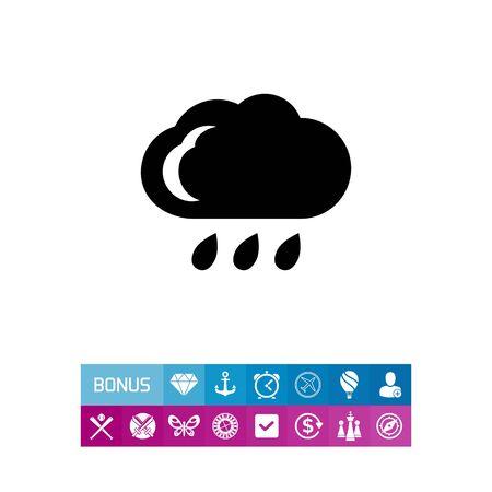 precipitation: Rainy weather
