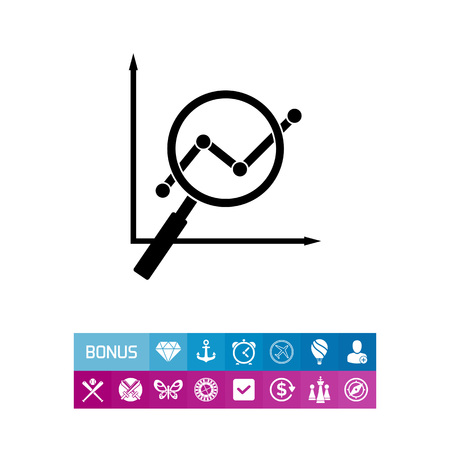 information analysis: SEO simple icon