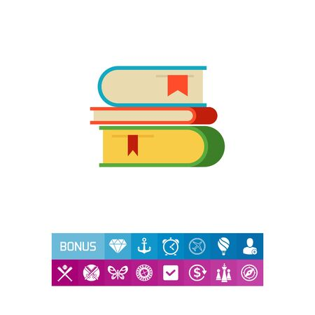 Icon of books stack