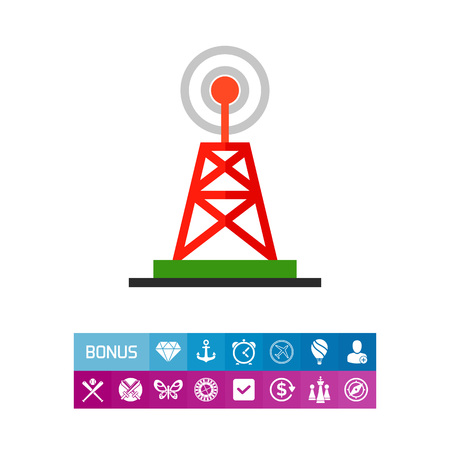wireless: Television Tower as Broadcast Concept Icon
