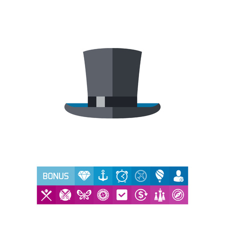 stovepipe hat: Top Hat Icon