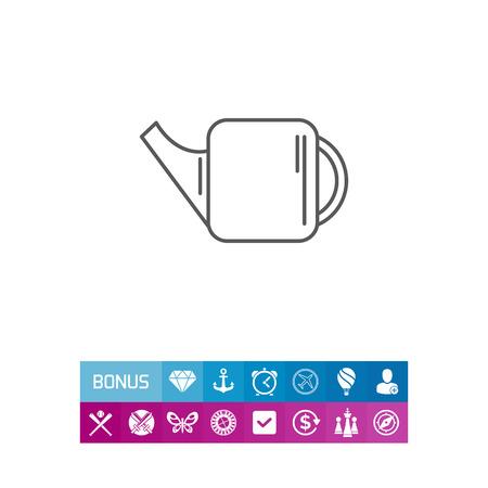 Watering can icon Ilustração