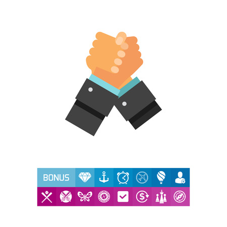 Struggling Hands Icon