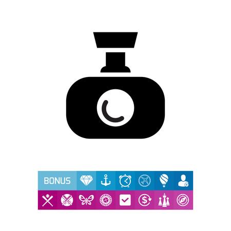 Icon of video monitoring camera