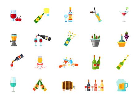 Winehouse icon set
