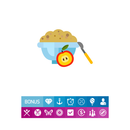 Bowl of cornflakes icon