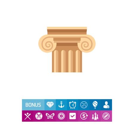roman column: Column Vector Icon