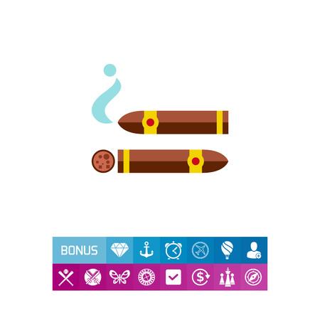 Cigars icon Illustration