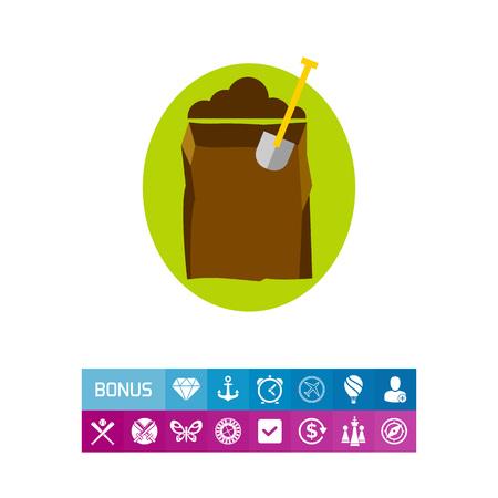 Digging hole icon