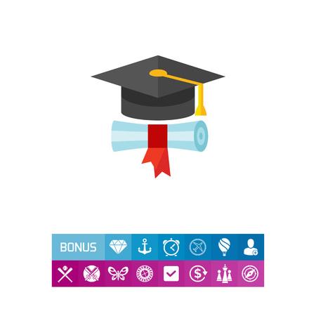 卒業コンセプト アイコン 写真素材 - 83096166
